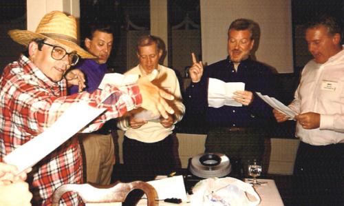 Scott, Jerry, Barry, Dan, Marc sing '94